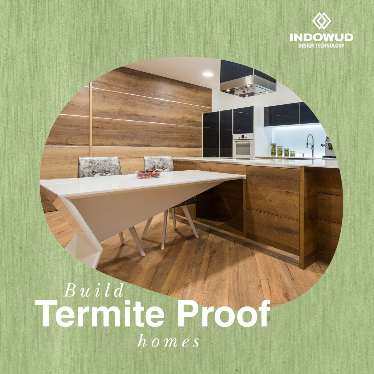 termite proof homes with Indowud NFC